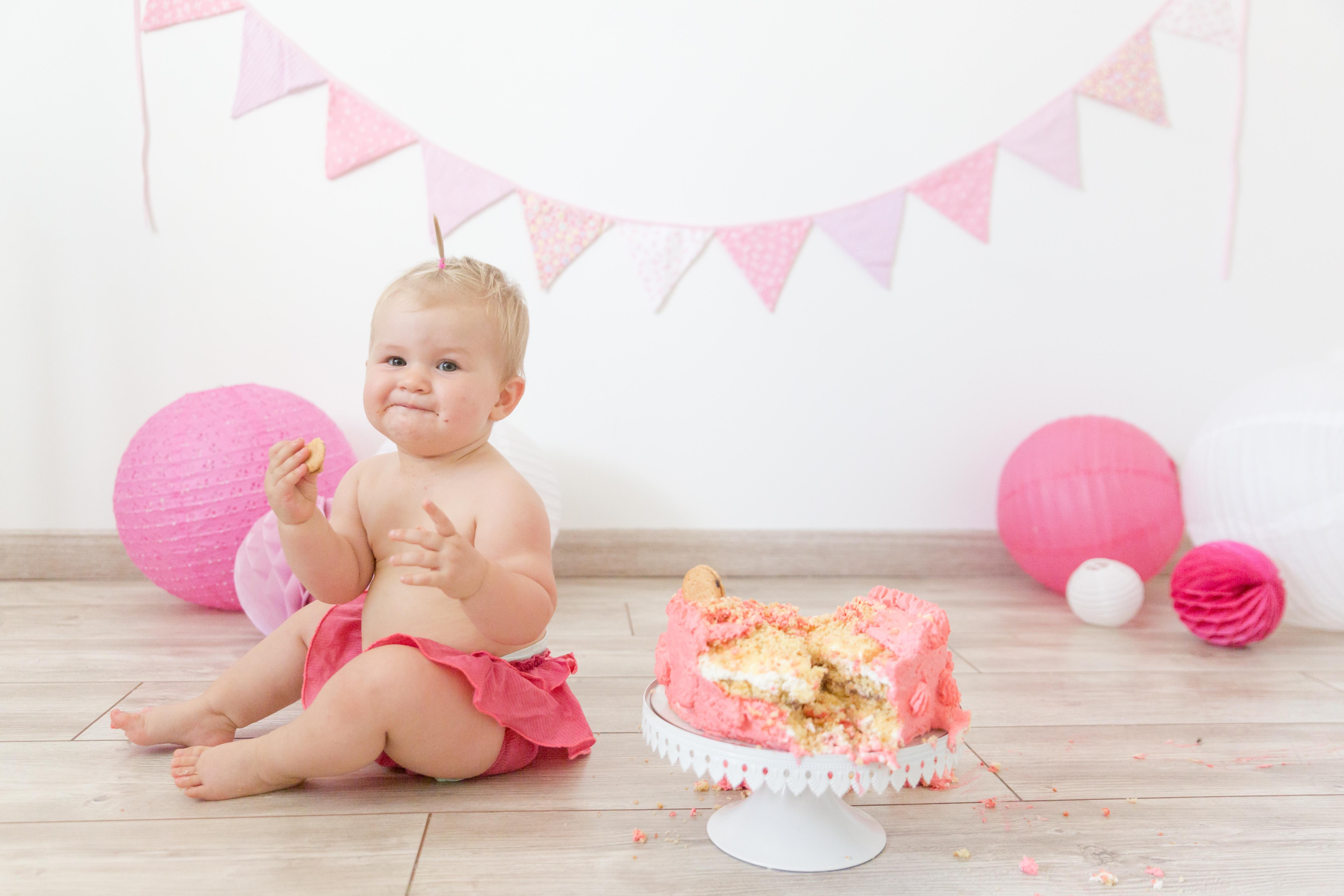 Smash Cake bébé