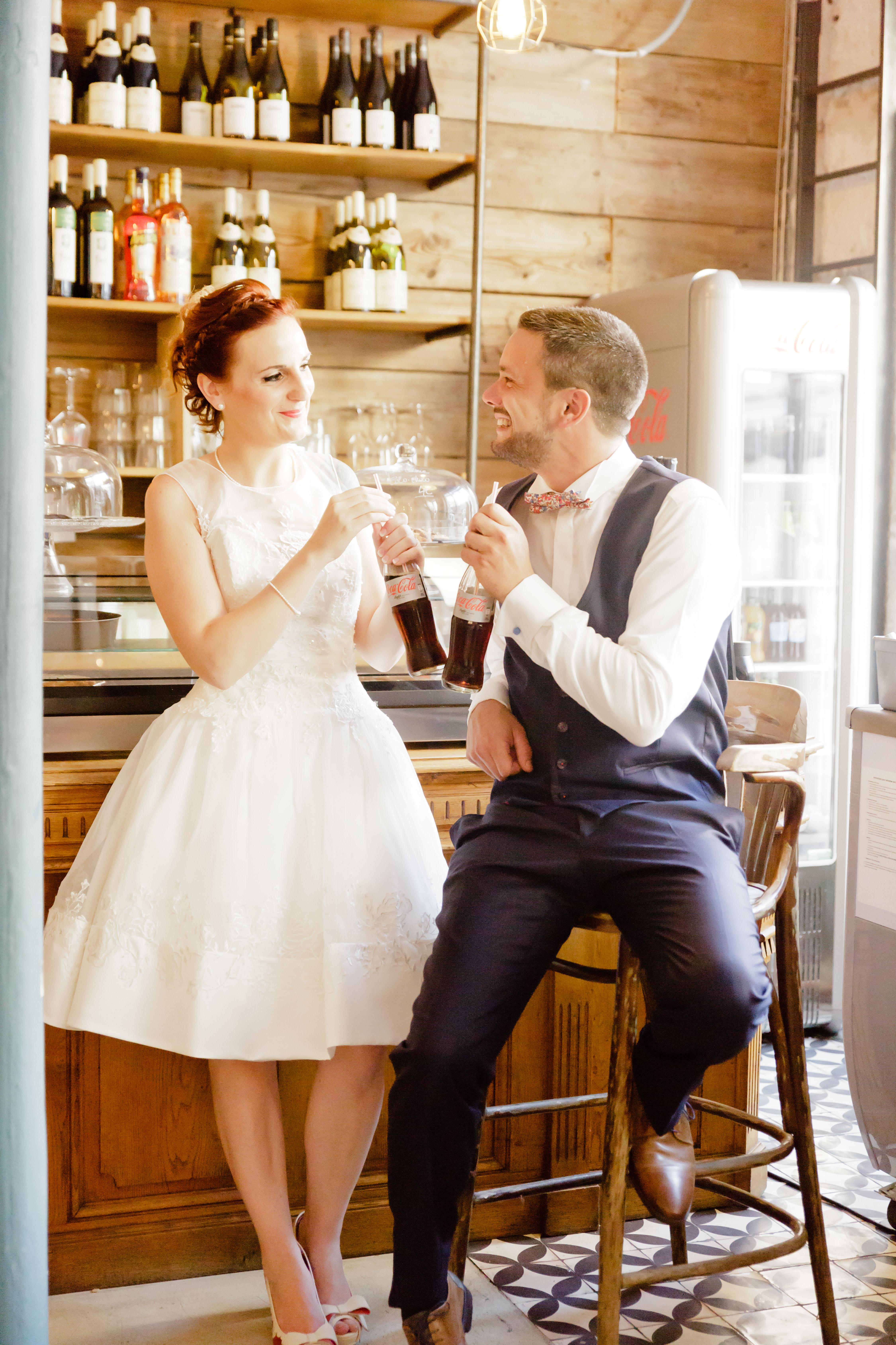 moment detente mariés