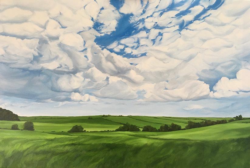 """""""Abundant Skies"""" horizontal print"""