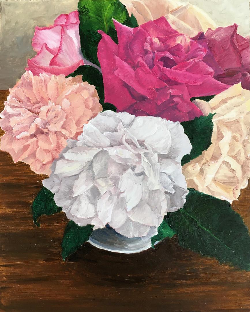 Coleman Senecal. Cottage Roses..JPG