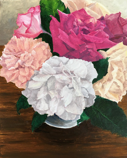 Coleman Senecal. Cottage Roses..JPG