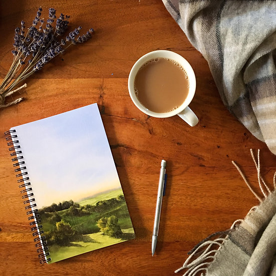 """Joy Comes in the Morning"" notebook"