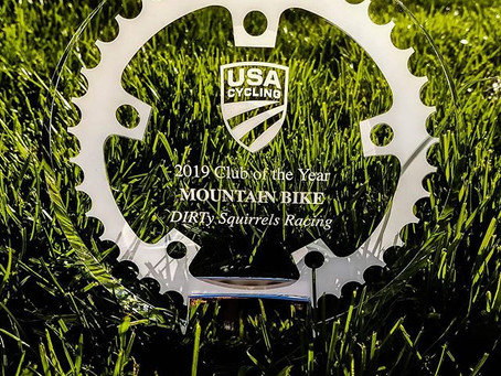 DIRTy Squirrels Racing Named 2019 Best Mountain Bike Team by USA Cycling