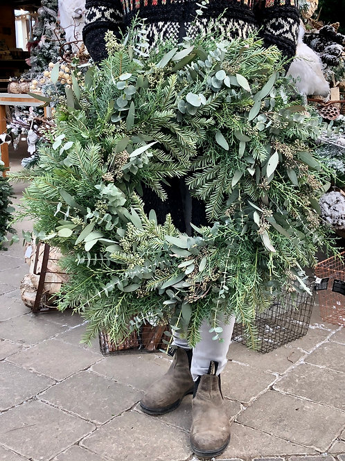 Wreath Vixen - Full Greens and Variety of Eucalyptus