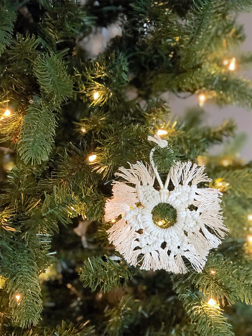 Take & Create Kit - Macrame Snowflake