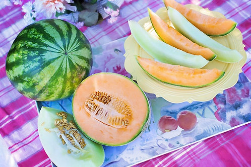 "Melon 3.5""/ $3.99"