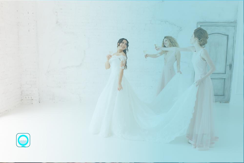 الحفاظ على فستان الزفاف، ازالة البقع ، فستان الزفاف