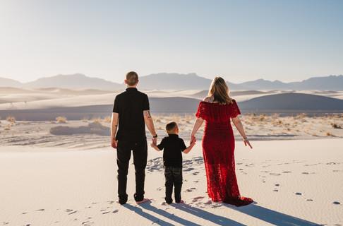 Family White Sands
