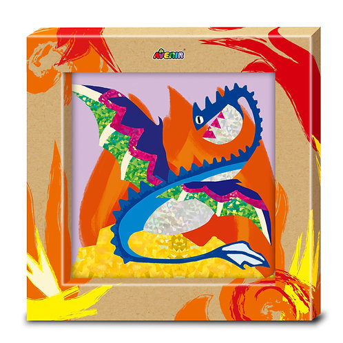 Toyzon Photo Frame Foil Art - Dragons