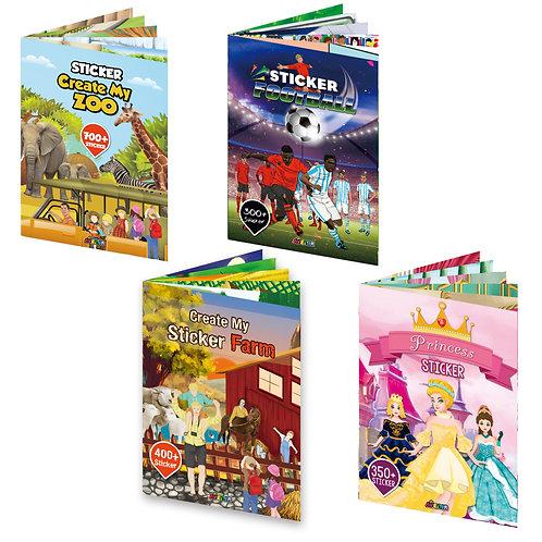 Toyzon Sticker Book