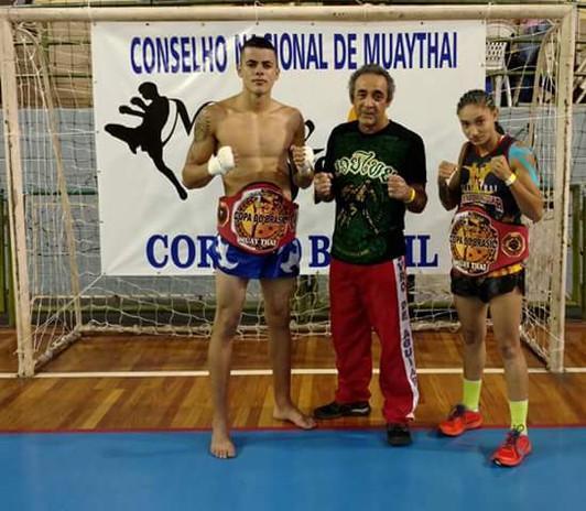 Marcinho e Bruninha Campeões