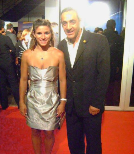 Alvaro de Aguiar e Jade Barbosa