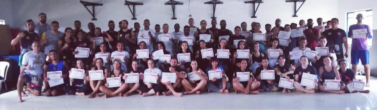 Exame de Graduação de Muaythai em Santana do Parnaiba