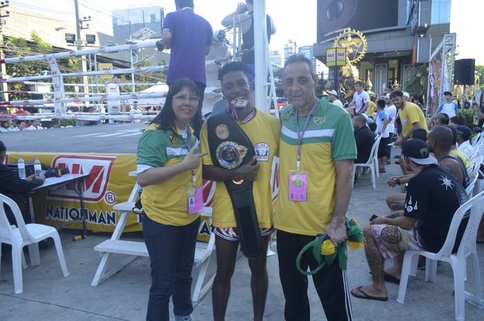 Simone, Yuri, Campeonato Mundial de Muaythai WMF na Tailandia