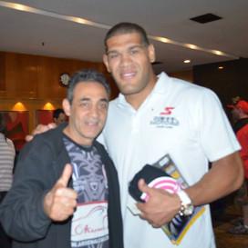 Alvaro e Pezão (Antônio Silva) do UFC