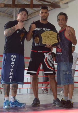 Cosminho, Ulisses Mendes Campeão do Costa Fight