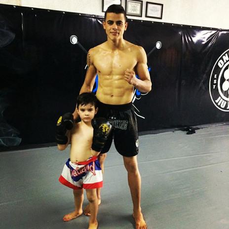 Marcinho e filho