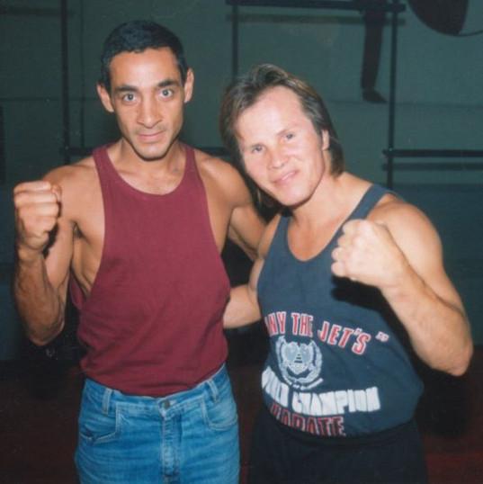 Alvaro de Aguiar e Benny Urquidez