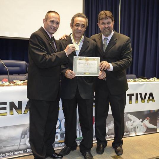 Daniel Lucena, Alvaro Aguiar e Fabio Bueno