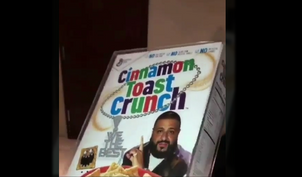 Dj Khaled Cinnamon Toast Crunch is about to come to a store near you!