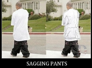 You could be fined for wearing Sagging Pants in South Carolina!