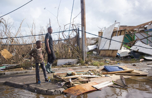 Thousands of people are expected to move into other states after Hurricane's destroy their citie