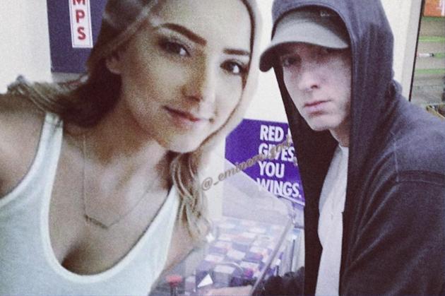 Eminem And Hailie 2017 Together