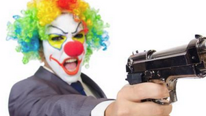 Juggaloes and Movies are being blamed for the Killer clown prank shootings.