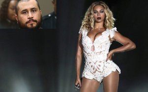 George Zimmerman is accused of making death threats to Beyonce and Jay Z