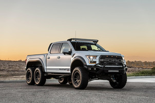 The 6x6 Ford Hennessey VelociRaptor comes fully stocked for $360,000