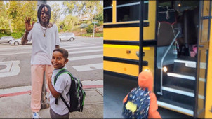 Wiz Khalifa gets attacked on Instagram after he sends his kid to school on the bus.