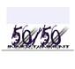 50/50innertainment Logo