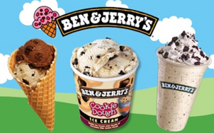 A chemical that is used to kill weeds has been detected in Ben and Jerrys Ice Cream!