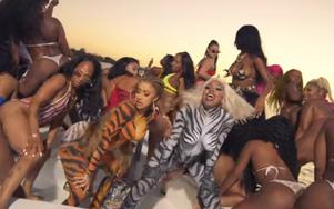 Cardi B & City Girls release their new music video called TWERK