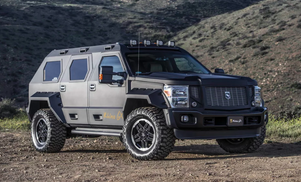 The $250,000 Rhino GX is a street legal Tank