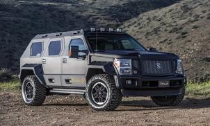 The $250,000 Rhino GX is a street legal Tank