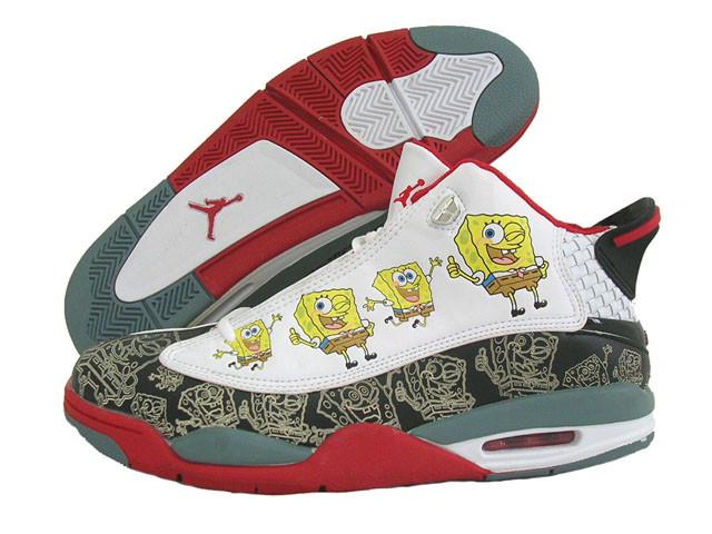 Michael Jordan Fake Spongebob shoes