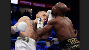 Floyd Mayweather shows why UFC fighters should stick to their sport.