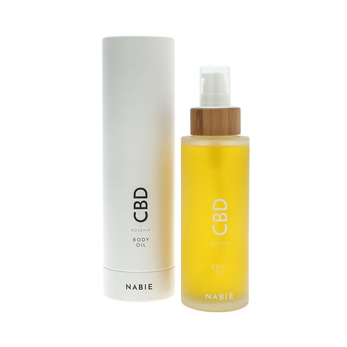 NABIE CBD Body Oil + Rosehip