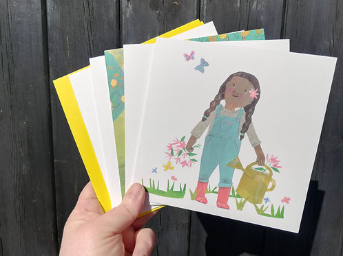 Kiddos Pack of  5 Greetings Cards