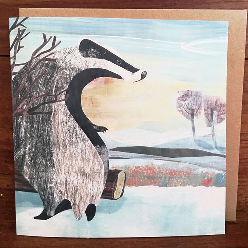 Wild Nature Greetings Cards pack of 5