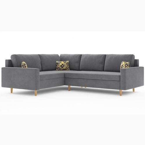 Scandinavian Etna Corner Sofa Bed