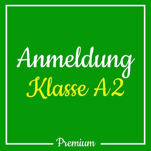 Anmeldegebühr Klasse A2 (Premium)