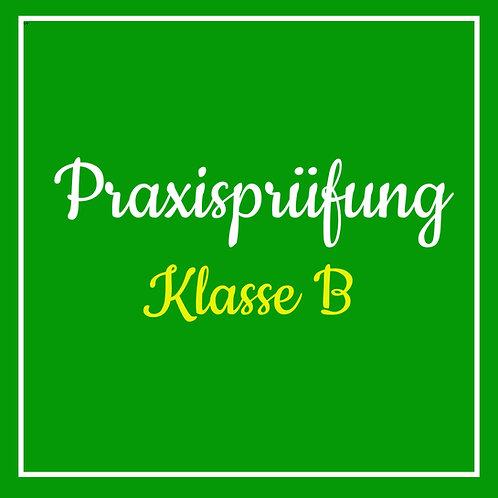 Praktische Prüfung Klasse B inkl. TÜV