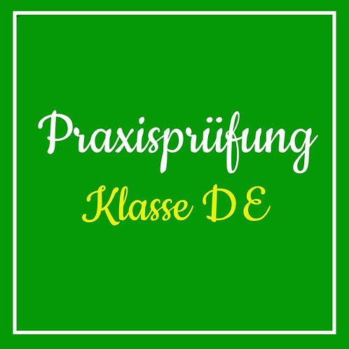 Praktische Prüfung Klasse DE inkl. TÜV