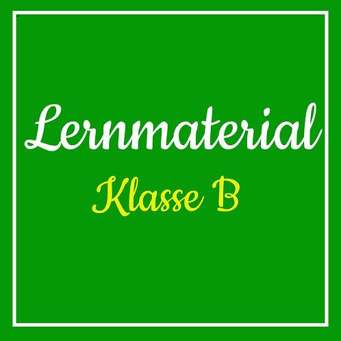 Lernmaterial Klasse B