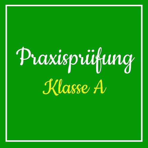 Praktische Prüfung Klasse A inkl. TÜV