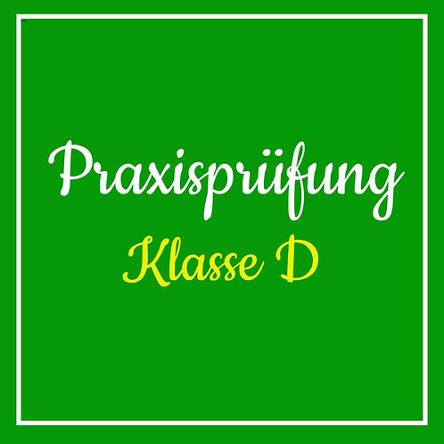 Praktische Prüfung Klasse D inkl. TÜV
