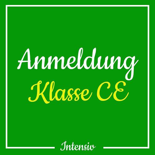 Anmeldegebühr Klasse CE (Intensiv)