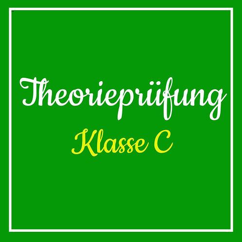 Theorieprüfung Klasse C inkl. TÜV